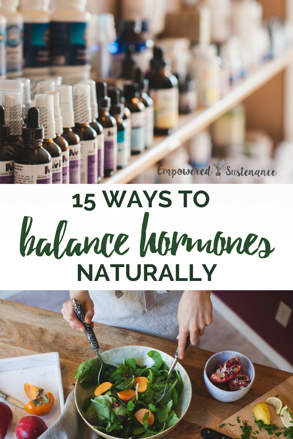 Hormone balance governs all aspects of your wellbeing. Balance hormones naturally with these tips to implement immediately. #healthy #naturallifestyle #healthyhome #hormones #hormonebalance