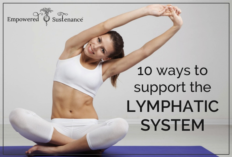 support the lymphatic system for healthy immune function and weight loss