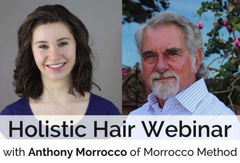 holistic hair webinar with morrocco method