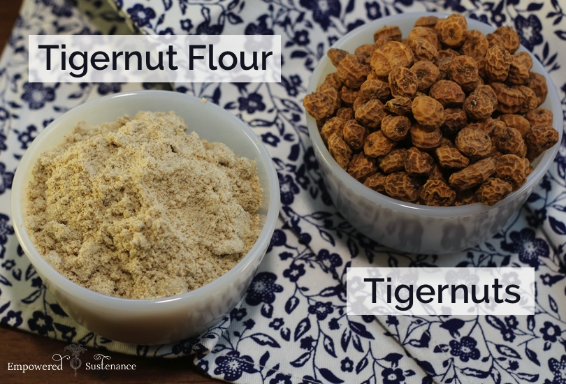 tigernut flour pancakes + intro to tigernut flour