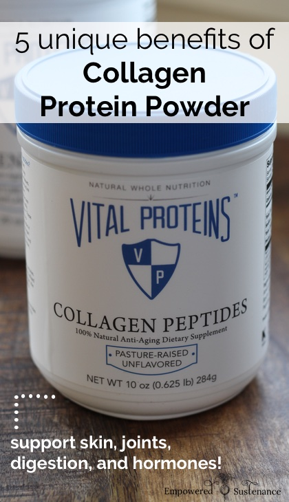 5 benefits of collagen protein powder