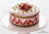 Strawberry Coconut Flour Cake (GAPS and Paleo)