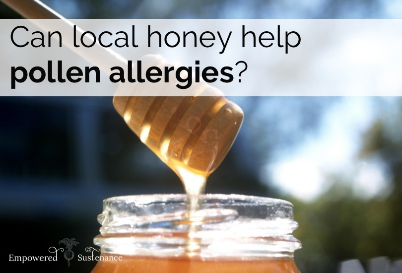 Can local honey help allergies?