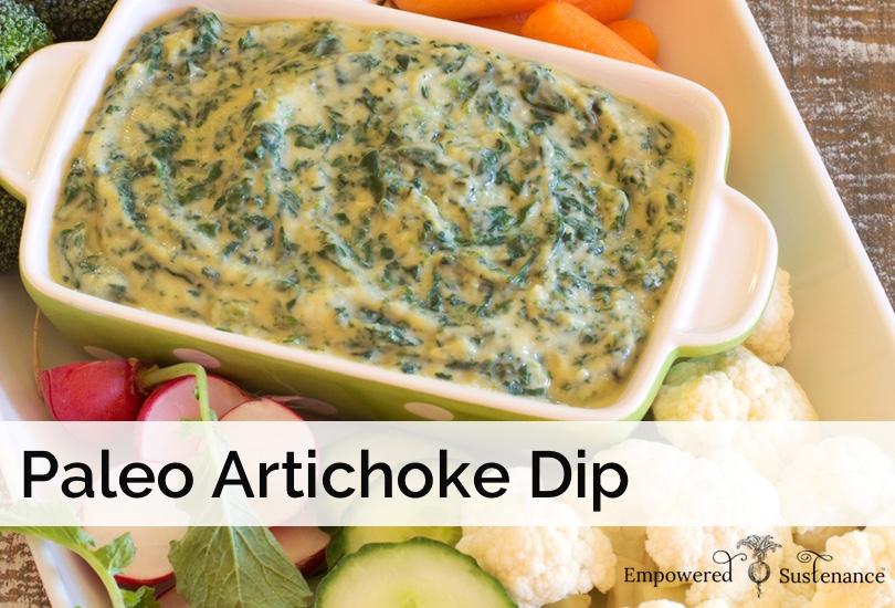 paleo spinach artichoke dip recipe
