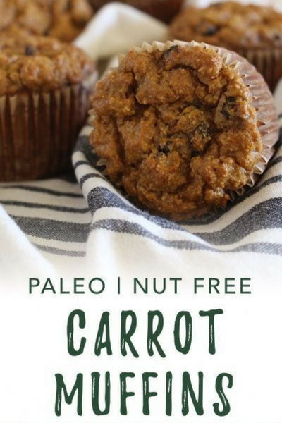 image of paleo carrot muffins