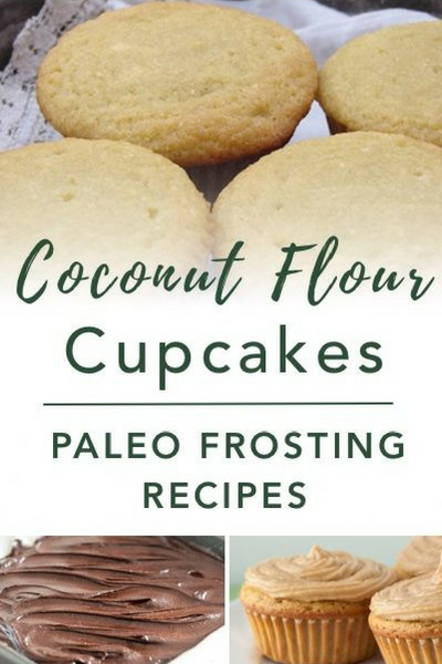 image of coconut flour cupcakes