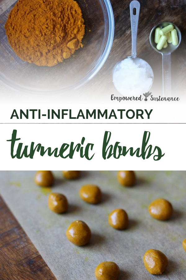 These DIY Turmeric Supplements contains the anti-inflammatory herb along with synergistic herbal ingredients that increase the bioavailability of turmeric. #naturalremedies #naturalhealth #wellness #naturallifestyle #turmeric #supplement
