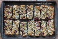 Coconut Cherry Paleo Granola Bar Recipe