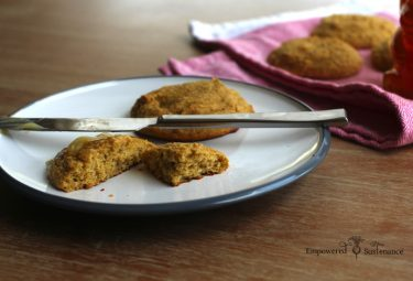 Paleo drop biscuits, featuring nutrient-dense tigernut flour