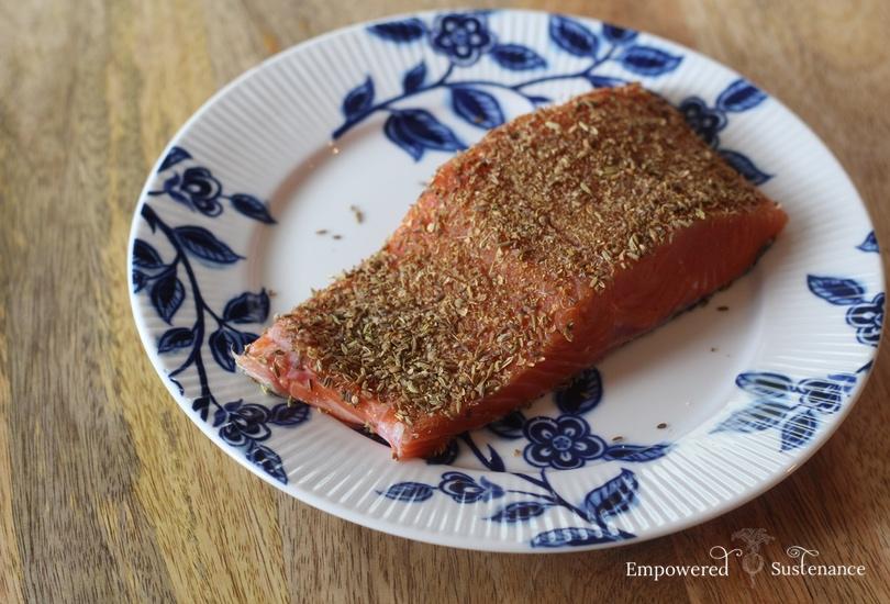 five ingredient salmon rub recipe
