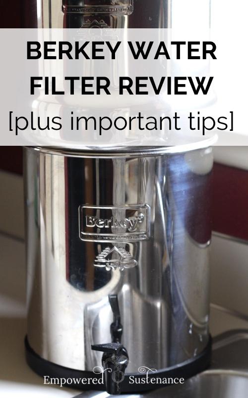 how to clean berkey water filter