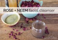 Three Ingredient Neem Face Wash Recipe