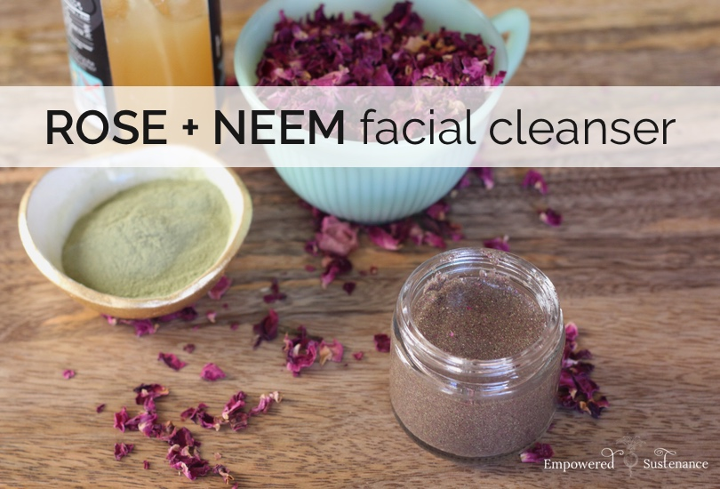 neem face wash recipe - just 3 ingredients!