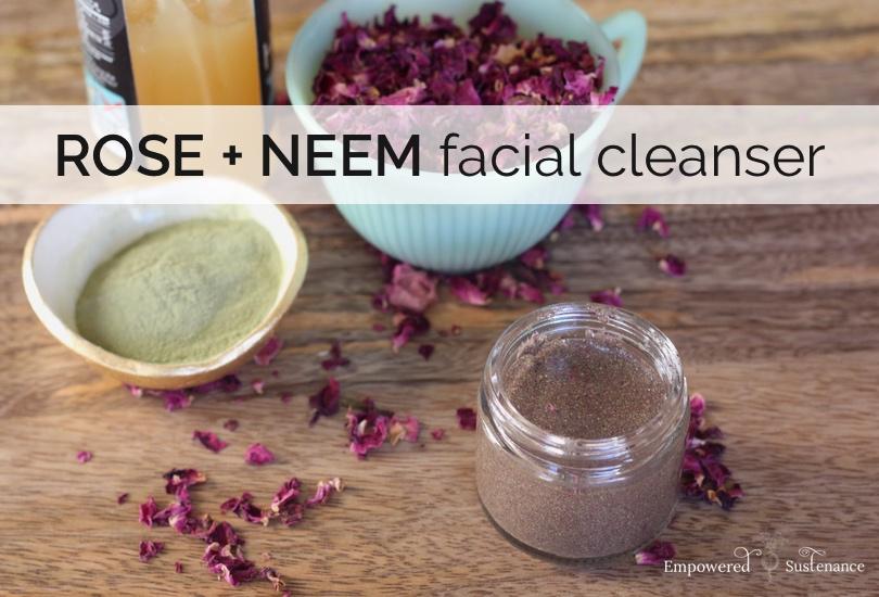 Three Ingredient Neem Face Wash Recipe