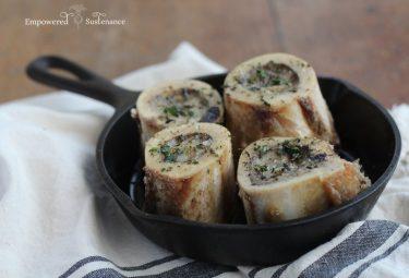 herb roasted marrow bones