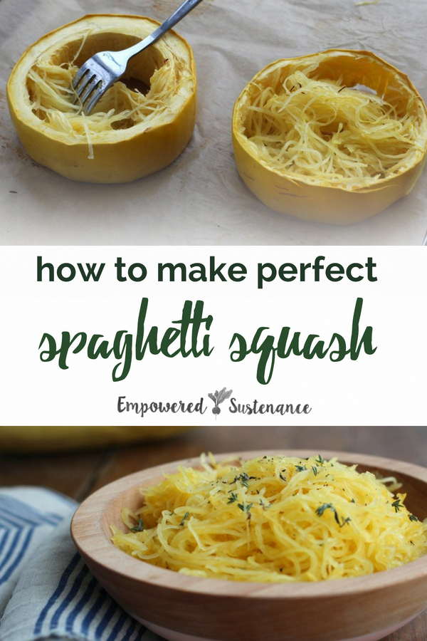 Learn how to cook spaghetti squash with this easy technique, you'll get perfectly baked healthy paleo spaghetti squash everytime with no mushy broken strands. Spaghetti squash makes the perfect paleo and gluten free pasta. #spaghettisquash #paleopasta #healthy #glutenfree #paleodiet #paleorecipe #primal #whole30 #dairyfree #eggfree #sugarfree #nutfree