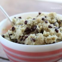 protein-packed paleo cookie dough recipe