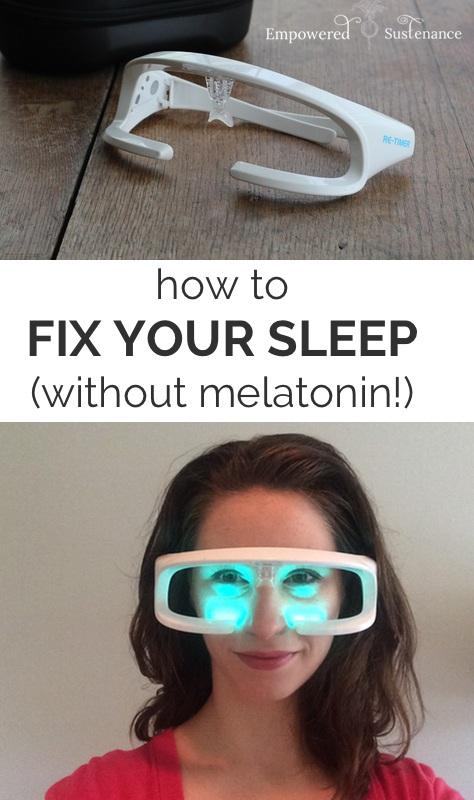how to fix your sleep without melatonin