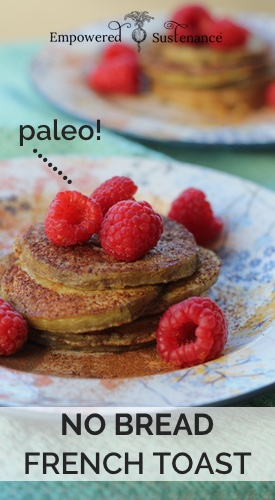 paleo french toast recipe, made without ANY bread! The secret ingredient is eggplant... say what?!