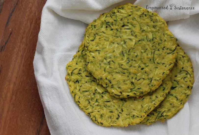 paleo zucchini flatbread 2