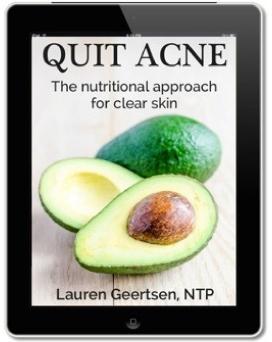 Quit Acne by Lauren Geertsen