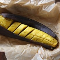 One-step sweet baked plantains