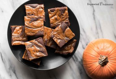 Paleo Pumpkin Brownies