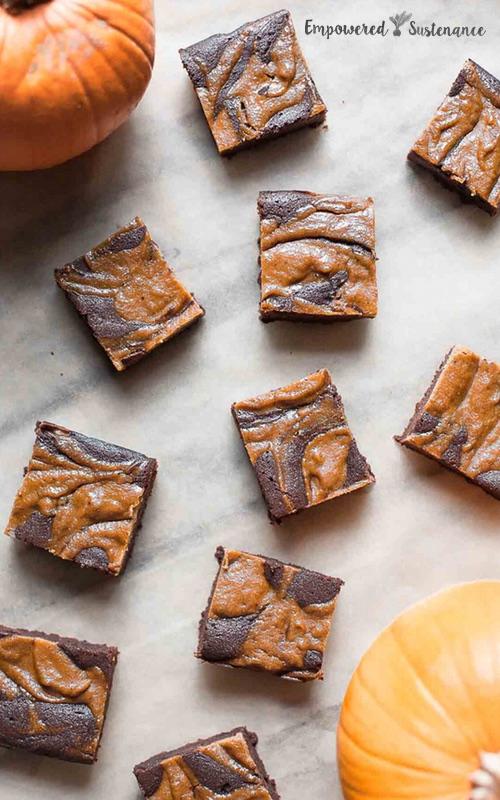 Paleo Pumpkin Brownies