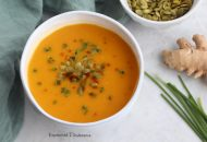 Butternut, Ginger, and Pear Soup