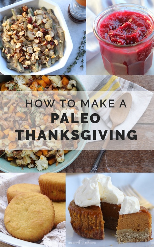 How to make a paleo thanksgiving