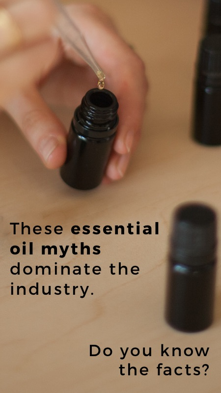 10 essential oil myths