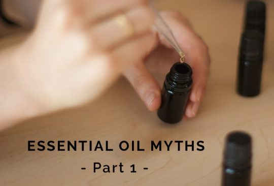 Essential Oil Myths Part 1 || What I learned founding an EO company