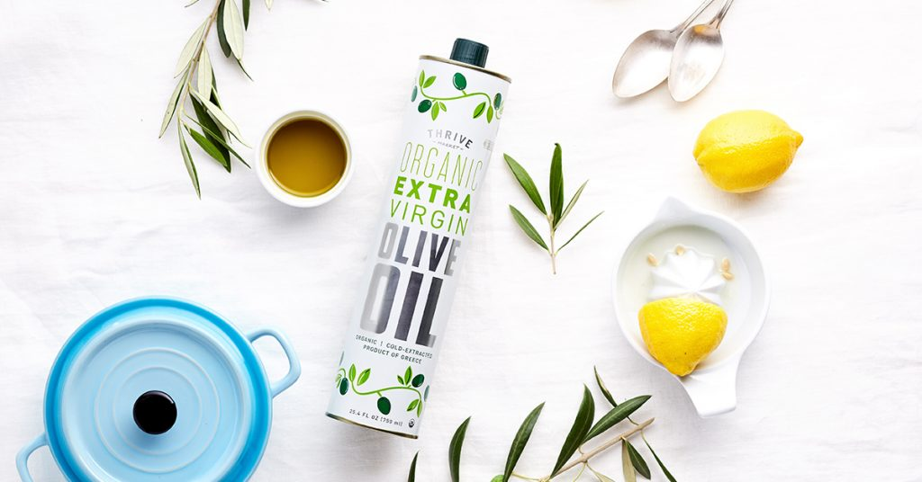 Free olive oil from Thrive Market