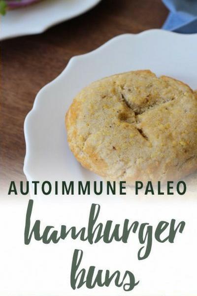 image of autoimmune paleo hamburger buns