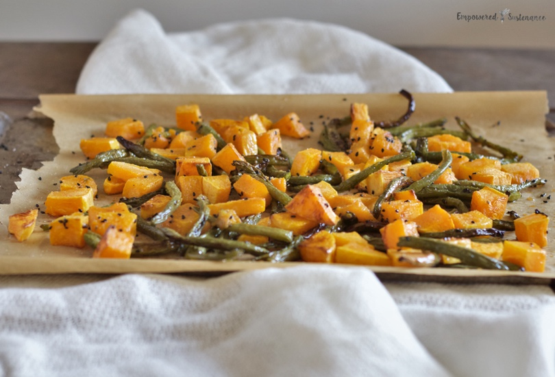 Butternut and Sesame Green Beans