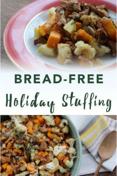 image of bread-free holiday stuffing
