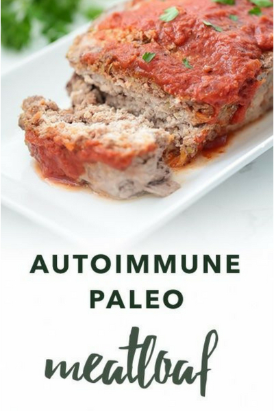 image of autoimmune paleo meatloaf