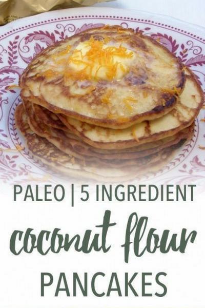 image of coconut flour pancakes