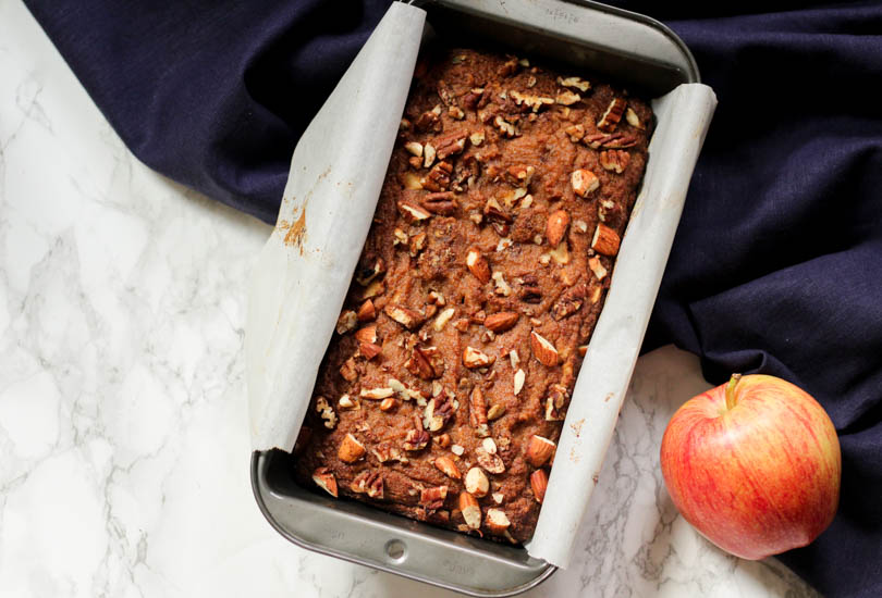 Paleo apple cinnamon bread recipe