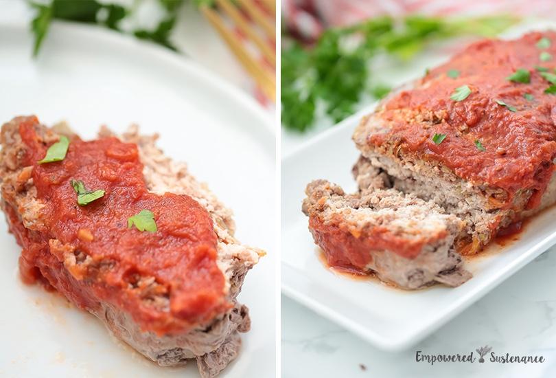 Autoimmune paleo meatloaf