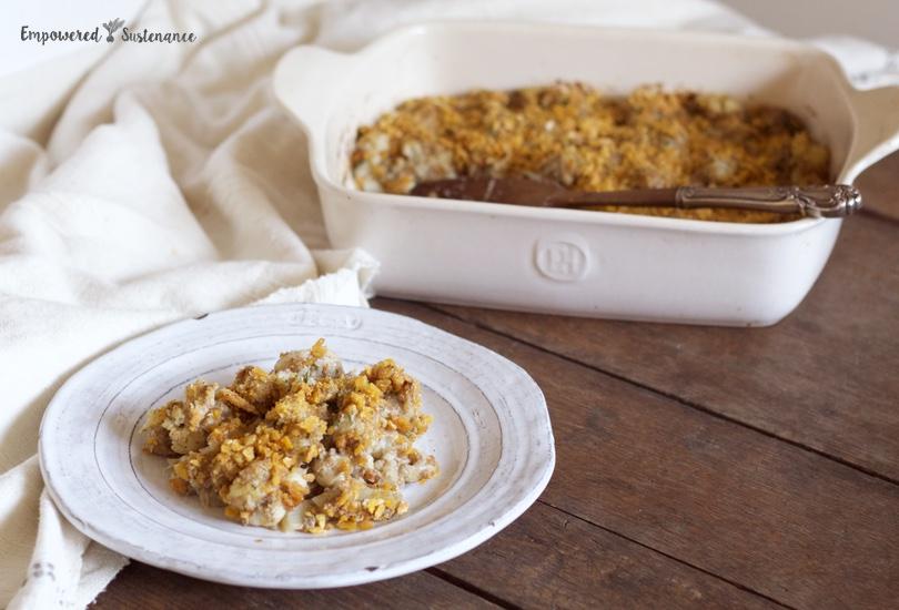 paleo creamy cauliflower casserole 2