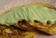 SCD/GAPS Intro Diet: Chicken Pancakes with Avocado Sauce