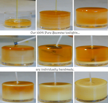 Beeswax Soy Candles
