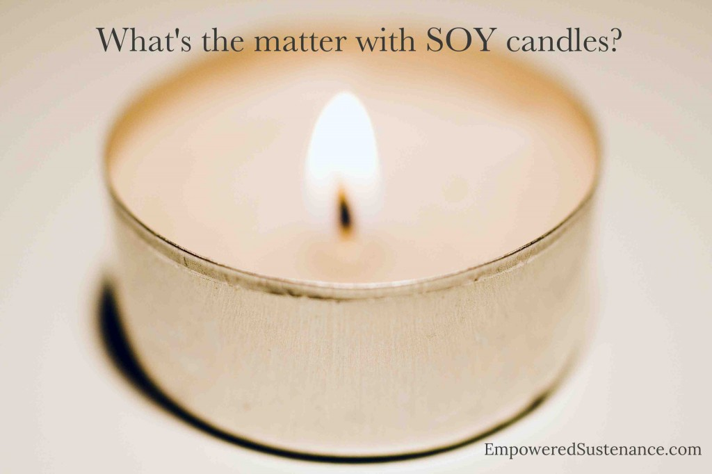 the problems with soy candles