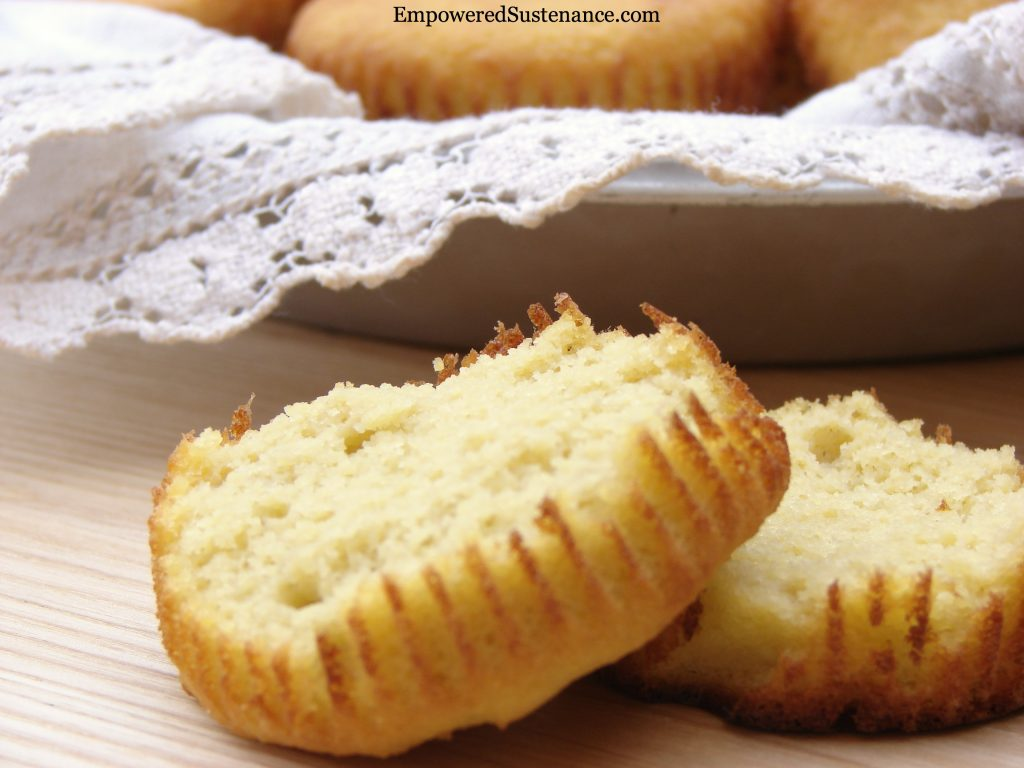 Paleo Cornbread Muffins (or simply coconut flour muffins)