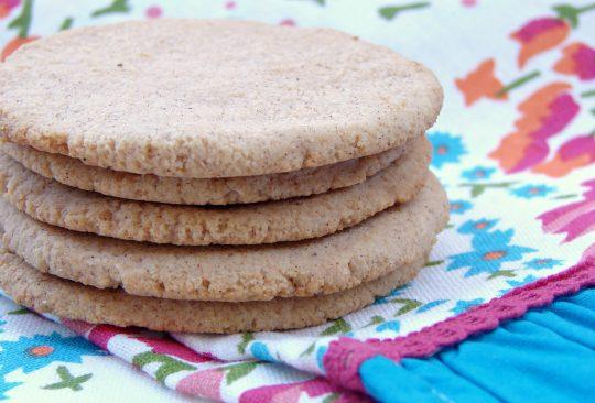 Egg Free Coconut Flour Cookies