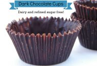 Healthy Homemade Chocolate Cups