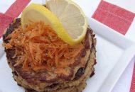 Acorn Squash and Salmon Cakes