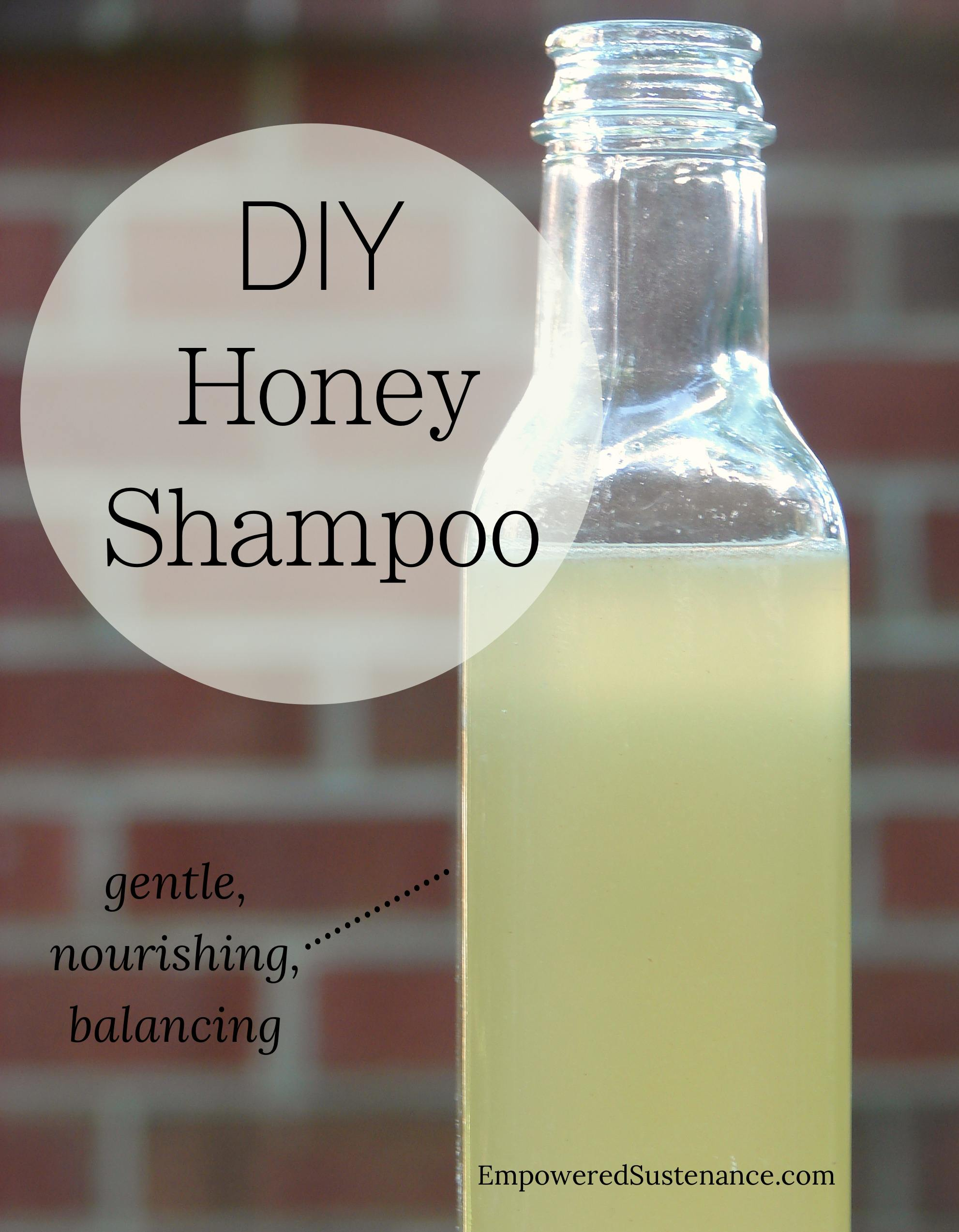 Diy Honey Shampoo Method
