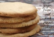 Ginger and Fennel Coconut Flour Cookies